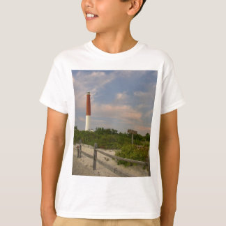 Long Beach Island Light House New Jersey USA T-Shirt