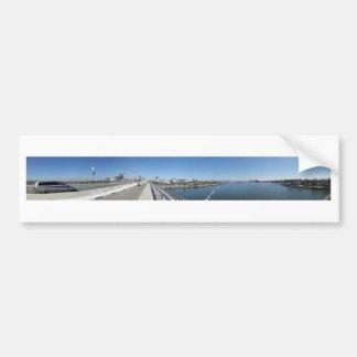 Long Beach Queensway Bridge Bumper Sticker