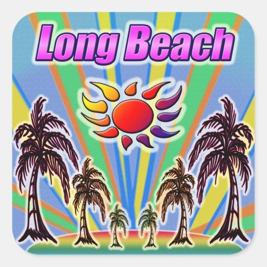 Long Beach Summer Love Sticker