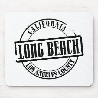 Long Beach Title Mousepad