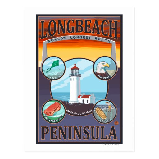 Long Beach, WashingtonTravel Postcards