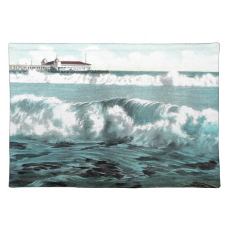 Long Beach Waves Placemat