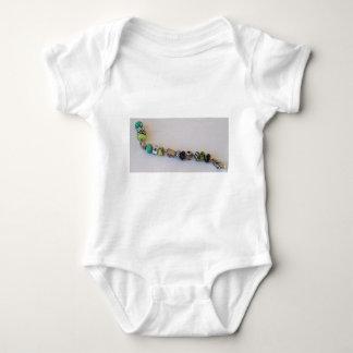 Long Blue Chain by MelinaWorld Jewellery Baby Bodysuit