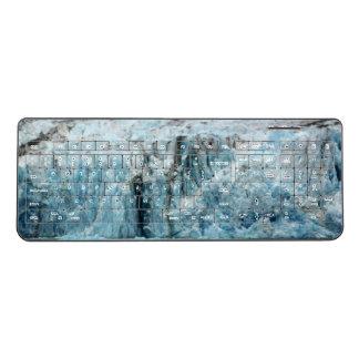 Long Blue Glacier Keyboard