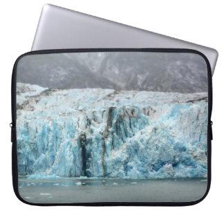 Long Blue Glacier Laptop Sleeve
