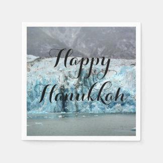 Long Blue Glacier Napkins Disposable Serviette