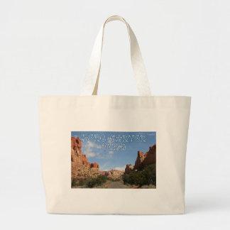 Long Canyon, Burr Trail Tote Bag