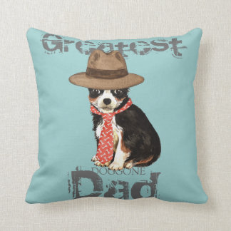 Long Coat Chihuahua Dad Cushion