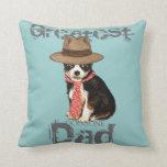 Long Coat Chihuahua Dad Pillow