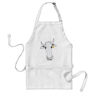 long cow adult apron
