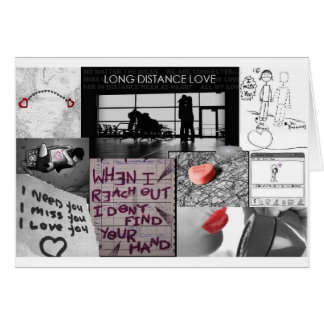 long distance love cards