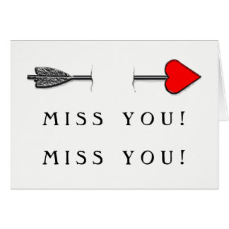 Long-distance Relationship Card