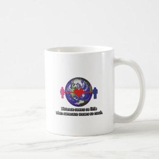 Long Distance Relationship Couple Coffee Mugs