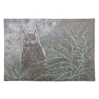 Long Eared Owl Placemat