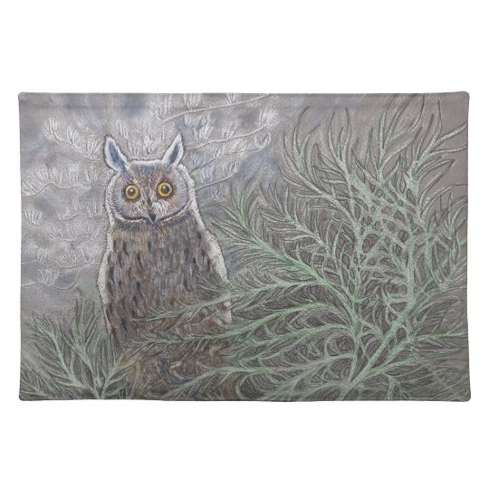 Long Eared Owl Placemats