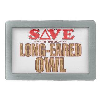 Long-Eared Owl Save Belt Buckles