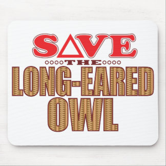 Long-Eared Owl Save Mouse Pad