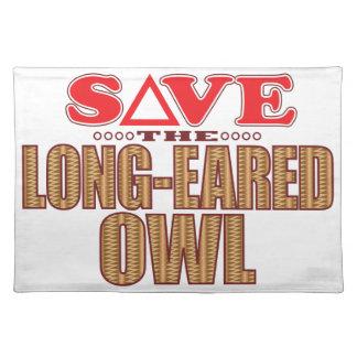 Long-Eared Owl Save Place Mat