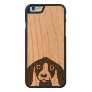 Long Ears Dog Carved® Cherry iPhone 6 Slim Case