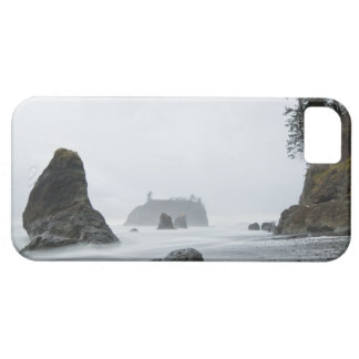 Long exposure of wave motion at Ruby Beach, Barely There iPhone 5 Case