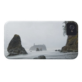 Long exposure of wave motion at Ruby Beach, iPhone 4 Cover