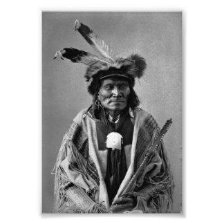 Long Fox-To-Can-Has-Ka. Tachana, Yankton Sioux Photo Print