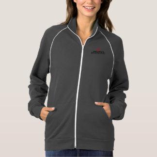 Long full zip hoodie