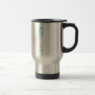 Long Hair Girl Coffee Mug