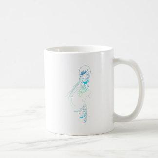 Long Hair Girl Mug