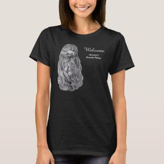 Long hair   Hairstylist   Hairdresser    Salon T-Shirt