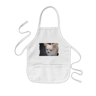 Long Haired Chihuahua Children's Apron