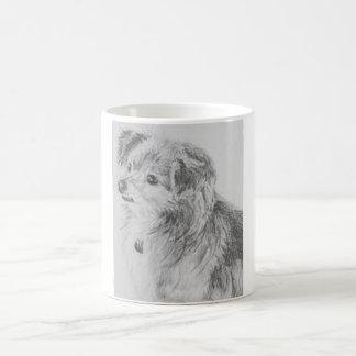 Long Haired Chihuahua Dog Mug