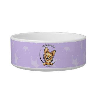 Long Haired Chihuahua IAAM Pet Bowls