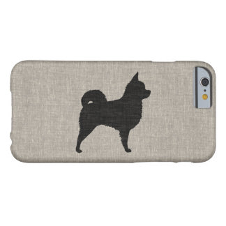 Long Haired Chihuahua Silhouette Barely There iPhone 6 Case