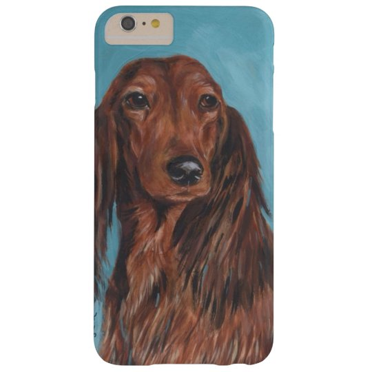 Long haired dachshund barely there iPhone 6 plus