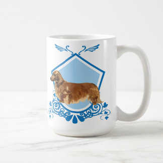 Long-haired Dachshund Coffee Mug