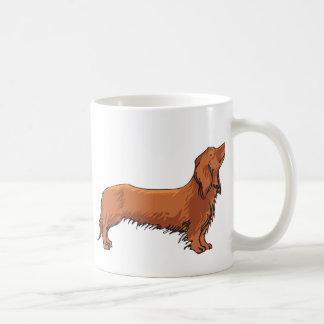 Long Haired Dachshund Coffee Mug