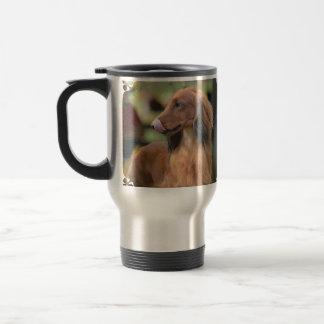 Long Haired Dachshund Coffee Mugs