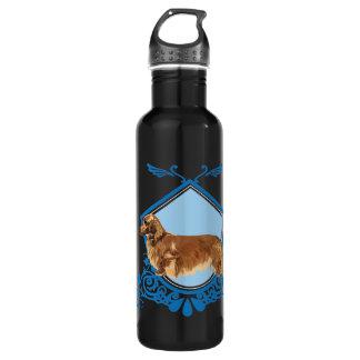 Long-haired Dachshund 710 Ml Water Bottle