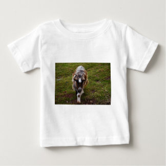 Long Haired Goat. Baby T-Shirt