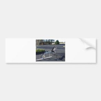 Long Haul Recumbent Bumper Stickers