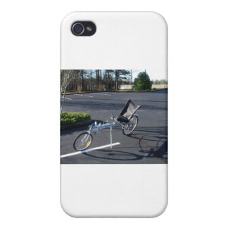 Long Haul Recumbent iPhone 4 Cover