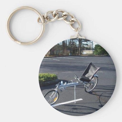 Long Haul Recumbent Keychain