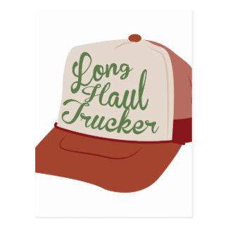 Long Haul Trucker Postcard