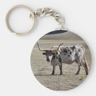 Long Horn Cow Keychains