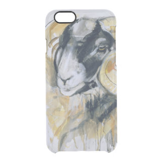 Long Horn Sheep Clear iPhone 6/6S Case