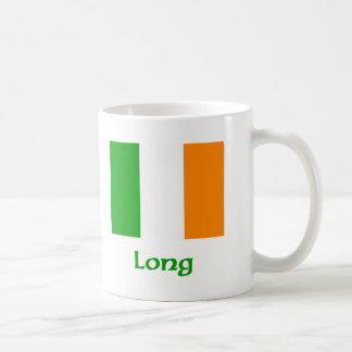 Long Irish Flag Coffee Mug