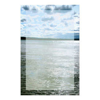 Long Island Beach Landscape Stationery