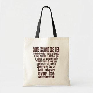 Long Island Ice Tea bag - choose style & color