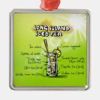 Long Island Iced Tea - Cocktail Gift Christmas Ornament
